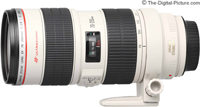Canon EF 70-200mm f/2.8L IS USM Lens