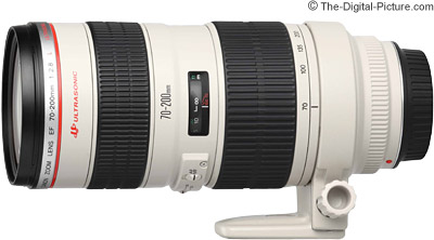 Refurbished Canon EF 70-200mm f/2.8 L USM Lens - $1,259.00 (Compare at $1,449.00 New)