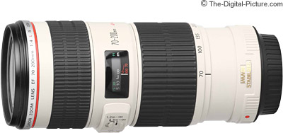 Canon EF 70-200mm f/4L IS USM Lens Tested on 5Ds R