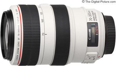 Canon EF 70-300mm f/4-5.6L IS USM Lens Tested on 5Ds R