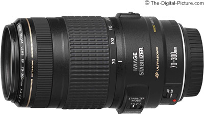Canon EF 70-300mm f/4-5.6 IS USM Lens Press Release