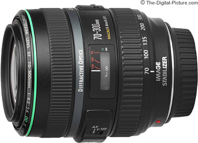 Canon EF 70-300mm f/4.5-5.6 DO IS Lens Tested on the EOS 5Ds R and 7D Mark II