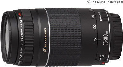 Canon EF 75-300mm f/4-5.6 III USM Lens Review