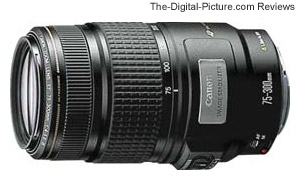 Canon EF 75-300mm f/4-5.6 IS USM Lens Review