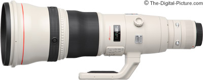 Canon EF 800mm f/5.6 L IS USM Lens Development Notice