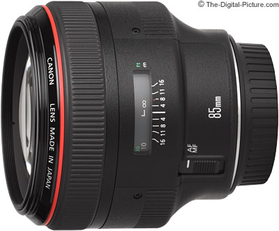 OOS: Refurbished Canon EF 85mm f/1.2L II USM Lens In Stock at 15% Off at the Canon Store
