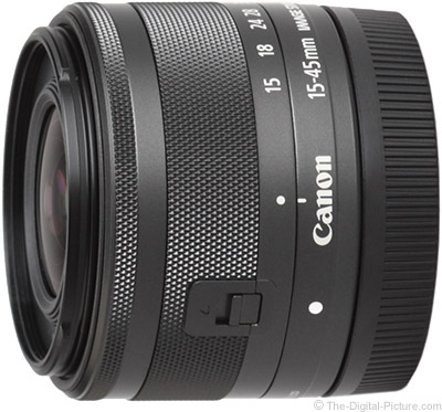Canon EF-M 15-45mm f/3.5-6.3 IS STM Lens Tested