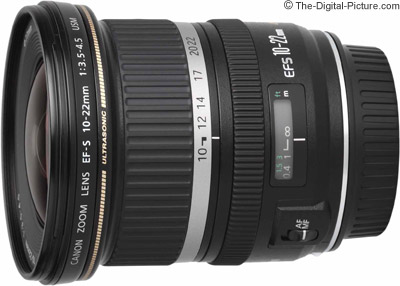 Canon EF-S 10-22mm f/3.5-4.5 USM Lens Image Quality Comparison