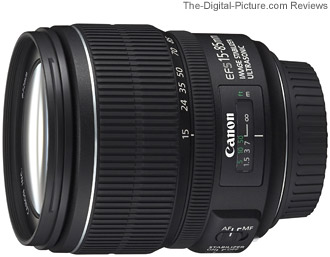 Canon EF-S 15-85mm f 3.5-5.6 IS USM Lens