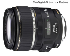 Canon EF-S 17-85mm f/4-5.6 IS USM Lens Press Release