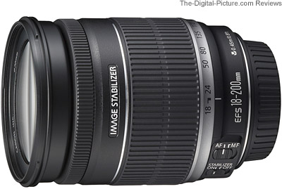 Canon EF-S 18-200mm f/3.5-5.6 IS Lens Europe Press Release