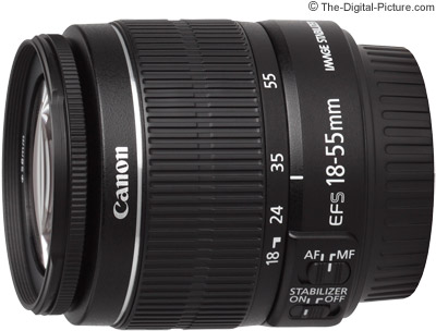Canon EF-S 18-55mm f/3.5-5.6 IS II Lens Image Quality Comparison
