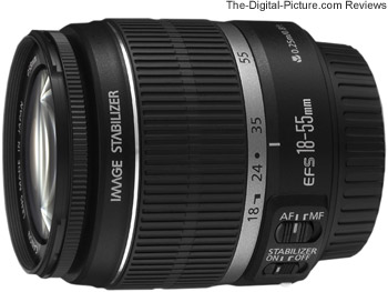 Canon EF-S 18-55mm f/3.5-5.6 IS Lens Press Release