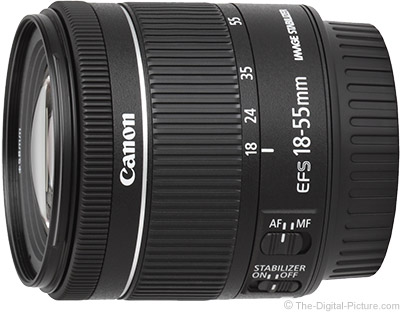 Canon EF-S 18-55mm f/4-5.6 IS STM Lens Image Quality Results, More ...