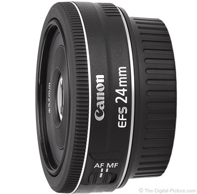 Refurb. Canon EF-S 24mm f/2.8 STM for $99.99 (and More Deals) at the Canon Store