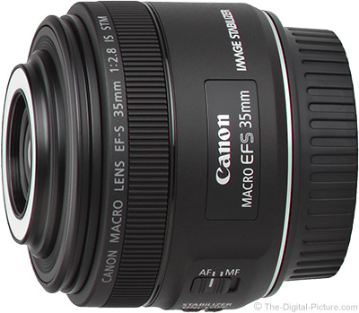 Just Announced: Canon EF-S 35mm f/2.8 Macro IS STM Lens