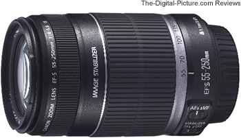 Canon EF-S 55-250mm f/4-5.6 IS Lens UK Press Release