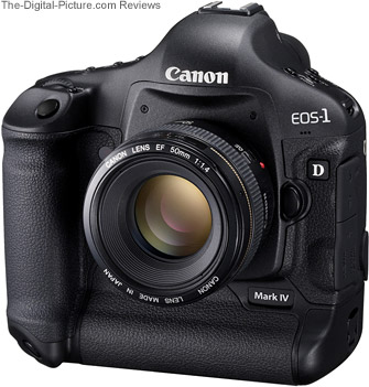 Canon EOS 1D Mark IV Europe Press Release
