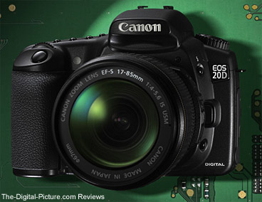Canon EOS 20D Press Release
