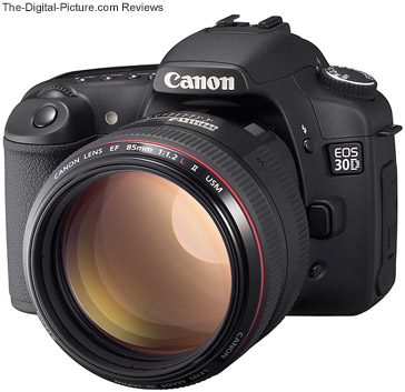 Canon EOS 30D Press Release