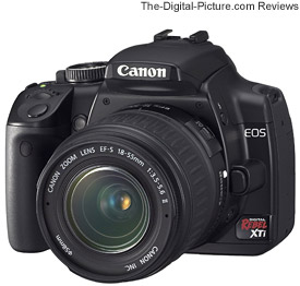 Canon EOS Rebel XTi / 400D UK Press Release
