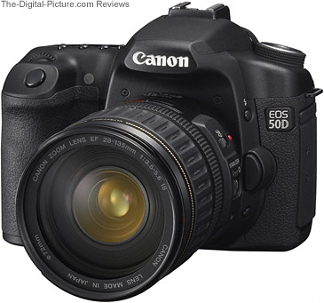 Canon EOS 50D ISO Noise Comparison