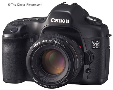 Canon EOS 5D Compared to Canon EOS 1Ds Mark II