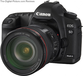 Canon EOS 5D Mark II Europe Press Release