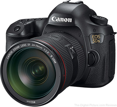 Just Announced: Canon EOS 5Ds and 5Ds R 50.6 Megapixel Ultra-High Resolution DSLR Cameras