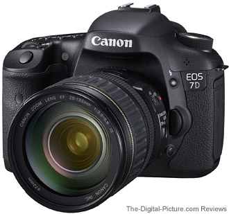 Canon EOS 7D DSLR Camera with EF-S 28-135mm IS Lens