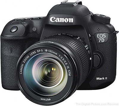 Canon EOS 7D Mark II DSLR with 18-135mm IS STM Lens