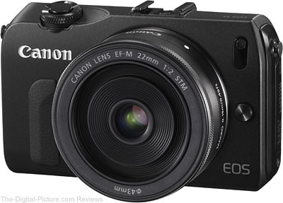 Canon EOS M with EF-M 22mm f/2 STM Lens - $249.99 Shipped (Compare at $311.00)