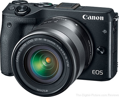 Canon EOS M3 with EF-M 18-55 IS STM Lens - $419.99 Shipped (Compare at $549.00)