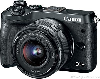 Canon EOS M6 User's Manual Available for Download