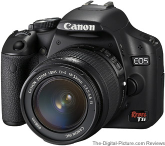 Canon EOS Rebel T1i / 500D UK Press Release