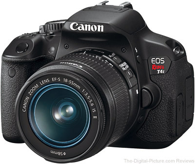 Canon EOS Rebel T4i / 650D UK Press Release