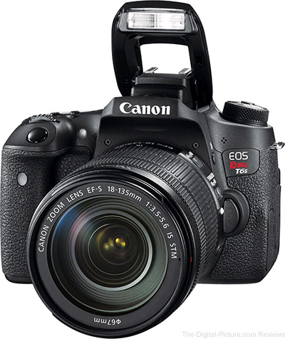Just Announced: Canon EOS Rebel T6s and T6i (760D and 750D)