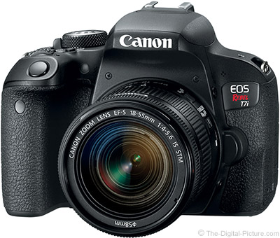 Just Posted: Canon EOS Rebel T7i / 800D Review