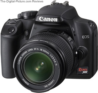 Canon EOS Rebel XS / 1000D ISO Noise Comparison