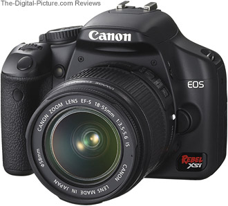Canon EOS Rebel XSi / 450D Digital SLR Camera Review