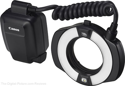 Canon Macro Ring Lite MR-14EX II Flash In Stock at B&H