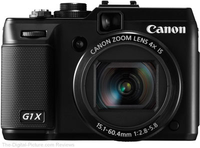 Canon PowerShot G1 X Press Release