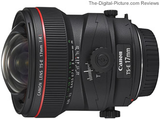 OOS: Refurbished Canon TS-E 17mm f/4L Lens In Stock for $1,699.32 (Compare at $2,299.00)