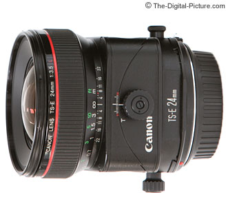 Canon TS-E 24mm f/3.5 L Tilt-Shift Lens