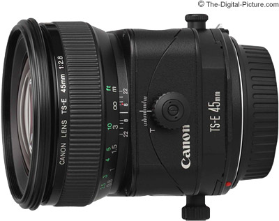 Canon TS-E 45mm f/2.8 Tilt Shift Lens Review