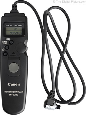 Just Posted: Canon Timer Remote Controller TC-80N3 Review