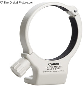 Canon Tripod Mount Ring A II (W) for 70-200mm f/4L Lenses Review