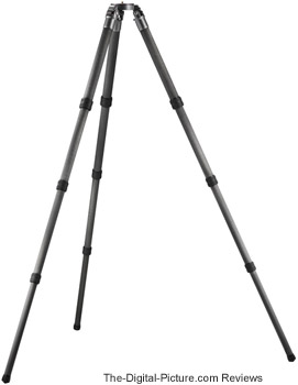 Gitzo GT5540LS Systematic 6x Carbon Fiber Tripod Review