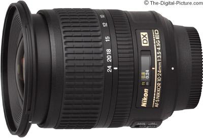 Nikon 10-24mm f/3.5-4.5G AF-S DX Lens