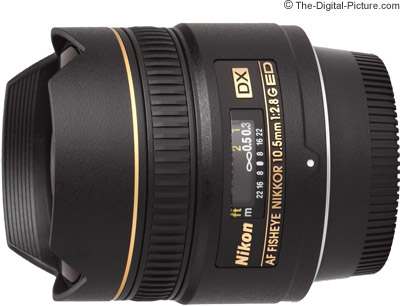 Nikon 10.5mm f/2.8G ED AF DX Fisheye Nikkor Lens Review